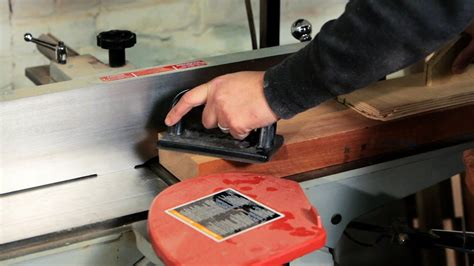 How To Use A Jointer Planer Youtube