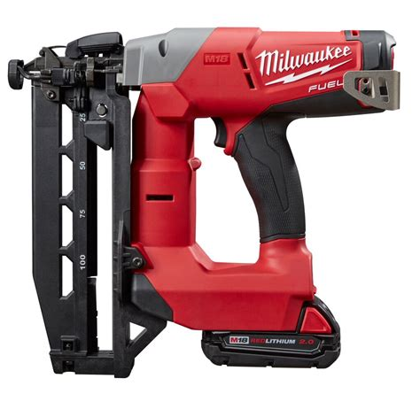 How To Use A Milwaukee Finish Nailer