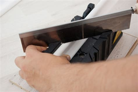 How To Use A Miter Box To Cut Baseboards