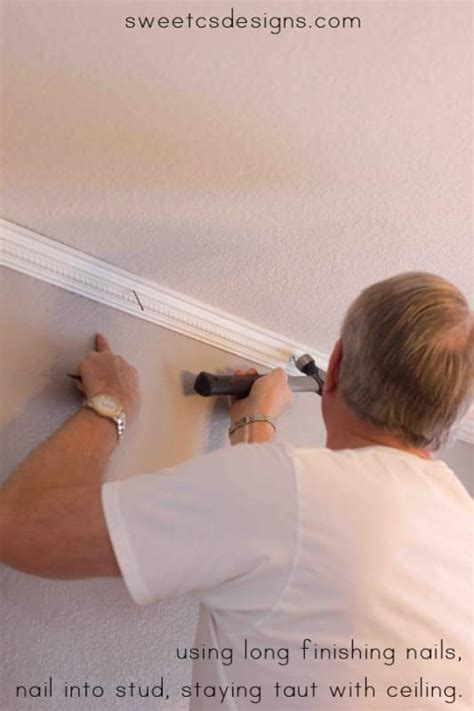 How To Use A Nail Gun On Crown Molding