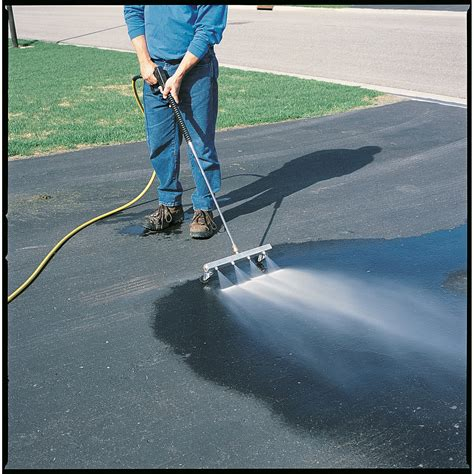 How To Use A Power Washer Water Broom