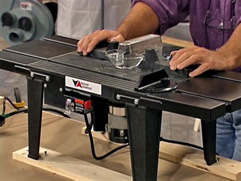 How To Use A Router Table Saw