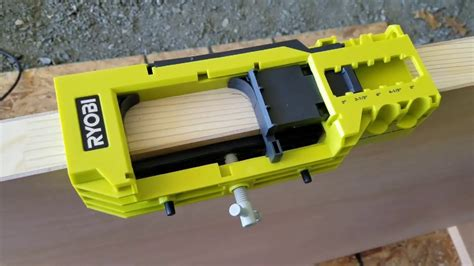How To Use A Ryobi Router And Door Hinge Template
