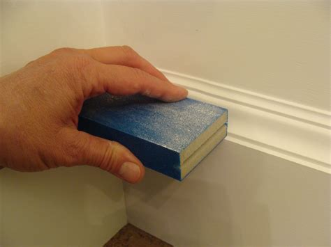 How To Use A Sanding Sponge On Wood