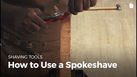 How To Use A Spoke Shave Video Editor
