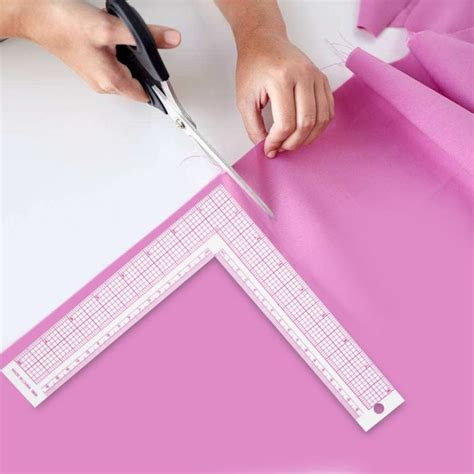How To Use A Square Ruler In Sewing