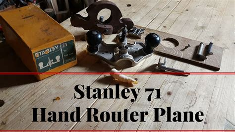 How To Use A Stanley Router Plane