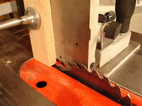 How To Use A Tenoning Jig