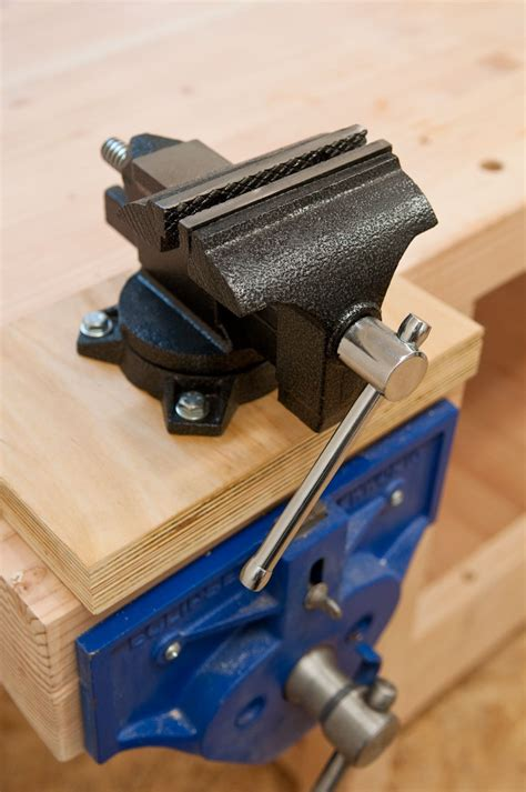 How To Use A Vise Without A Workbench