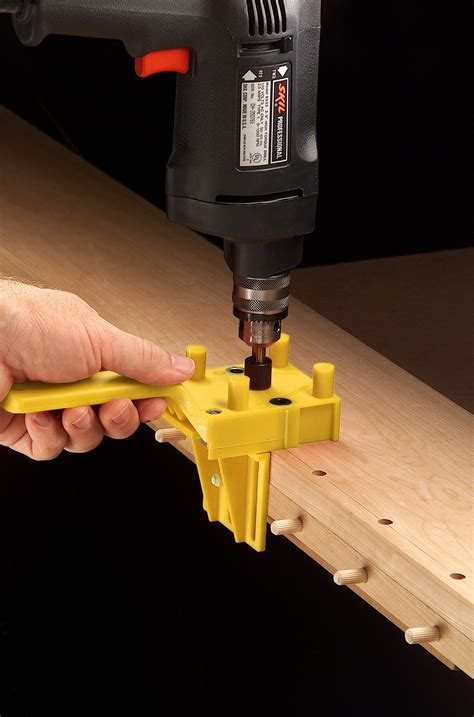 How To Use A Wolfcraft Dowel Jig