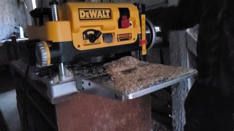How To Use A Wood Planer Youtube