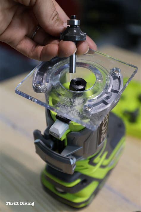 How To Use A Wood Router Ryobi