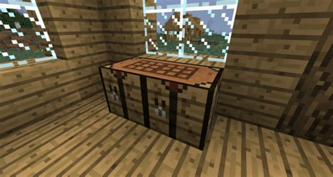 How To Use A Workbench Plus In Minecraft