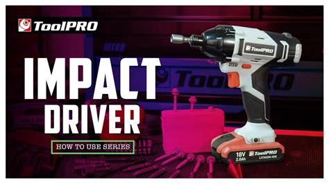 How To Use An Impact Driver Youtube