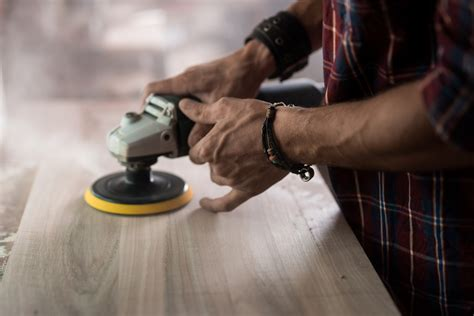 How To Use An Orbital Sander To Remove Finish