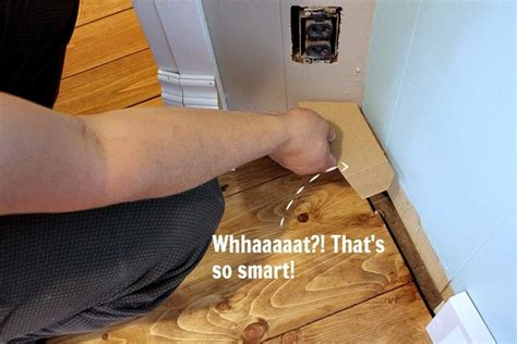 How To Use Angle Finder For Baseboards