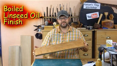 How To Use Boiled Linseed Oil On Furniture