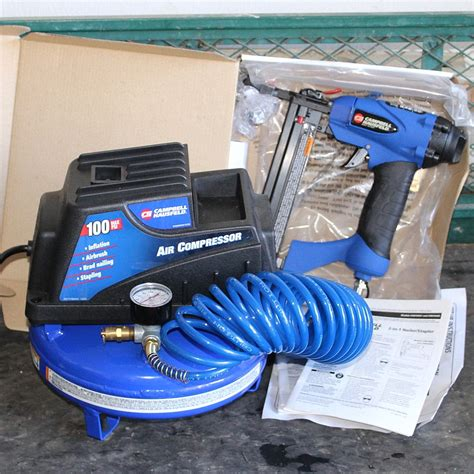 How To Use Campbell Hausfeld Air Compressor With A Nail Gun
