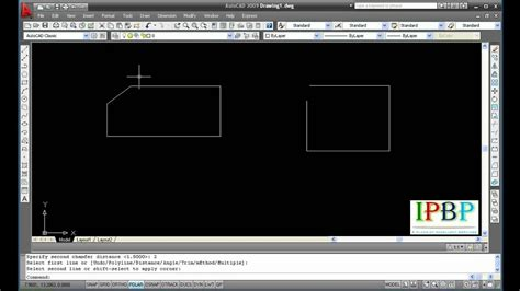 How To Use Chamfer In Autocad
