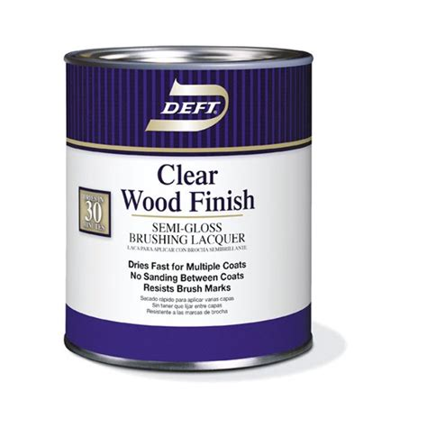How To Use Deft Semi Gloss Clear Wood Finish