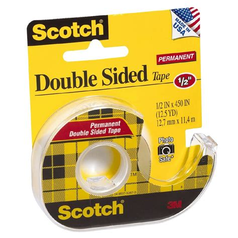 How To Use Double Sided Tape Scotch