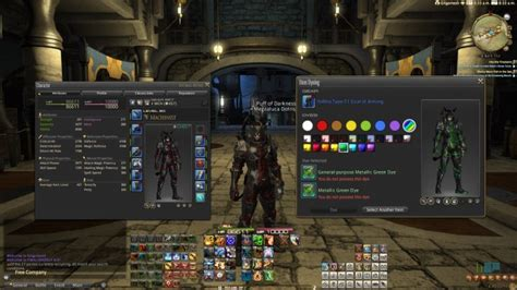 How To Use Dye Ff14