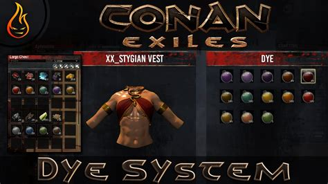 How To Use Dye In Conan Exiles