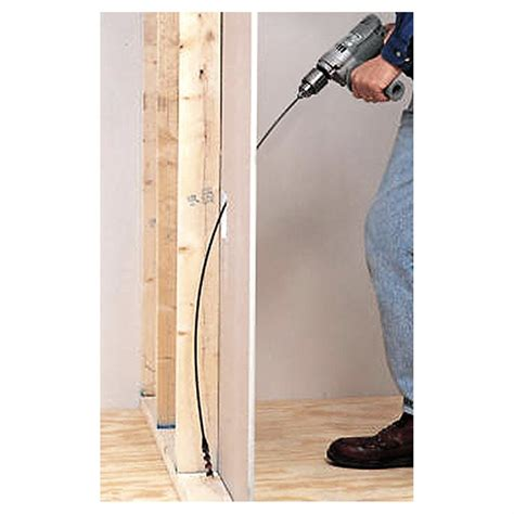 How To Use Flexible Auger Bit