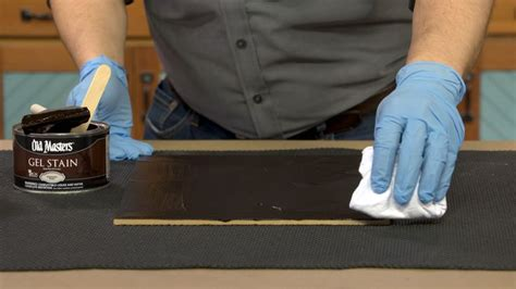 How To Use Gel Stain Old Masters