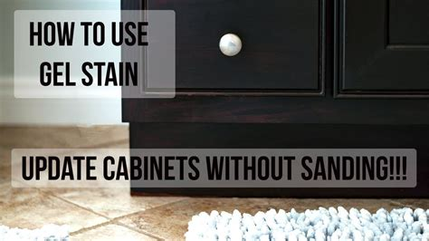 How To Use Gel Stain Without Sanding
