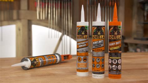 How To Use Gorilla Glue On Cement