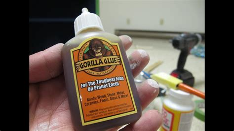 How To Use Gorilla Glue On Glass