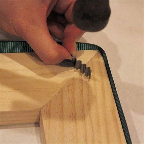 How To Use Joint Fasteners On Picture Frames