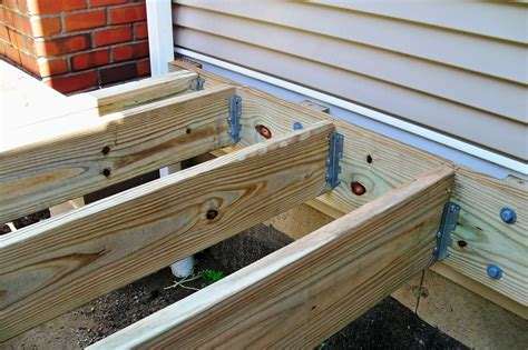 How To Use Joist Hangers On Decking Designs