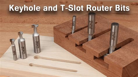How To Use Keyhole And T Slot Router Bits