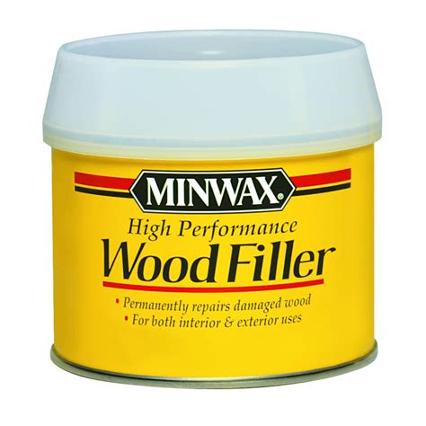 How To Use Minwax High Performance Wood Filler