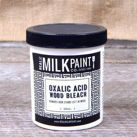 How To Use Oxalic Acid To Bleach Wood
