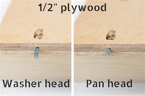How To Use Pocket Screws On 1 2 Plywood