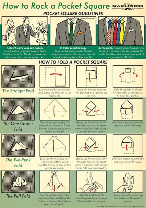How To Use Pocket Squares