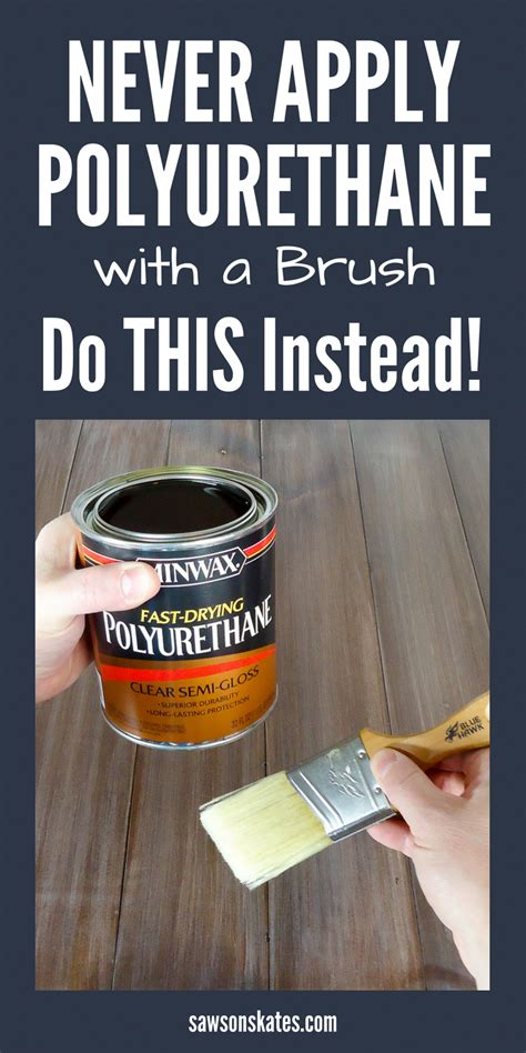 How To Use Polyurethane Spray Paint