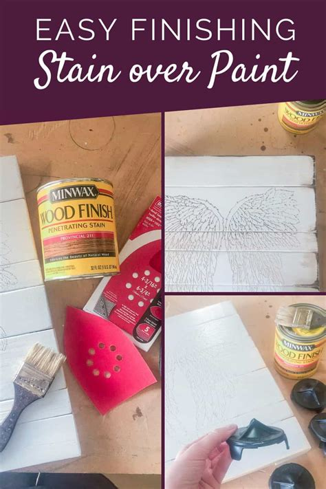 How To Use Stain Paint