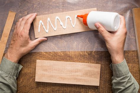 How To Use Wood Glue On Paper