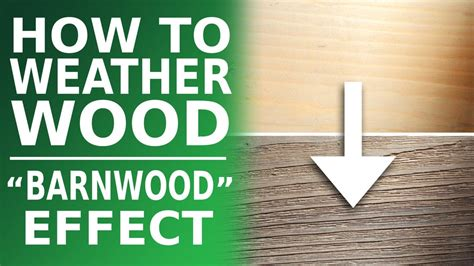 How To Weather Pine Wood Fast