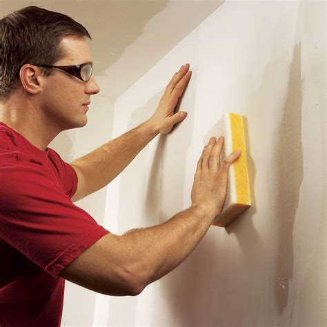 How To Wet Sand Drywall