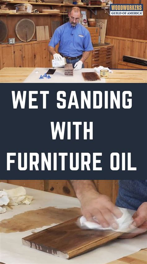 How To Wet Sand Wood Finish With Mineral Oil