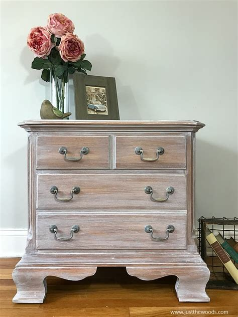 How To Whitewash Furniture With Color