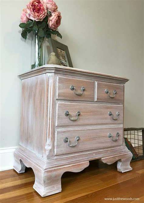 How To Whitewash Stained Wood Furniture