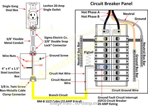 How To Wire 120v Outlet From Circuit Box
