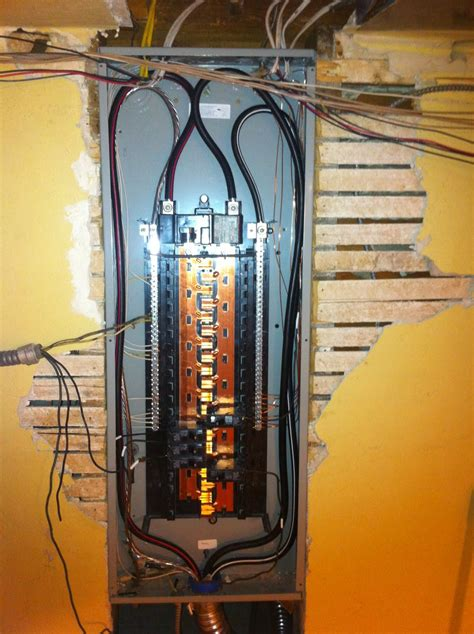 How To Wire A 200 Amp Service Entrance Use Lb