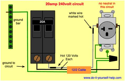 How To Wire A 220 Volt Circuit Breaker